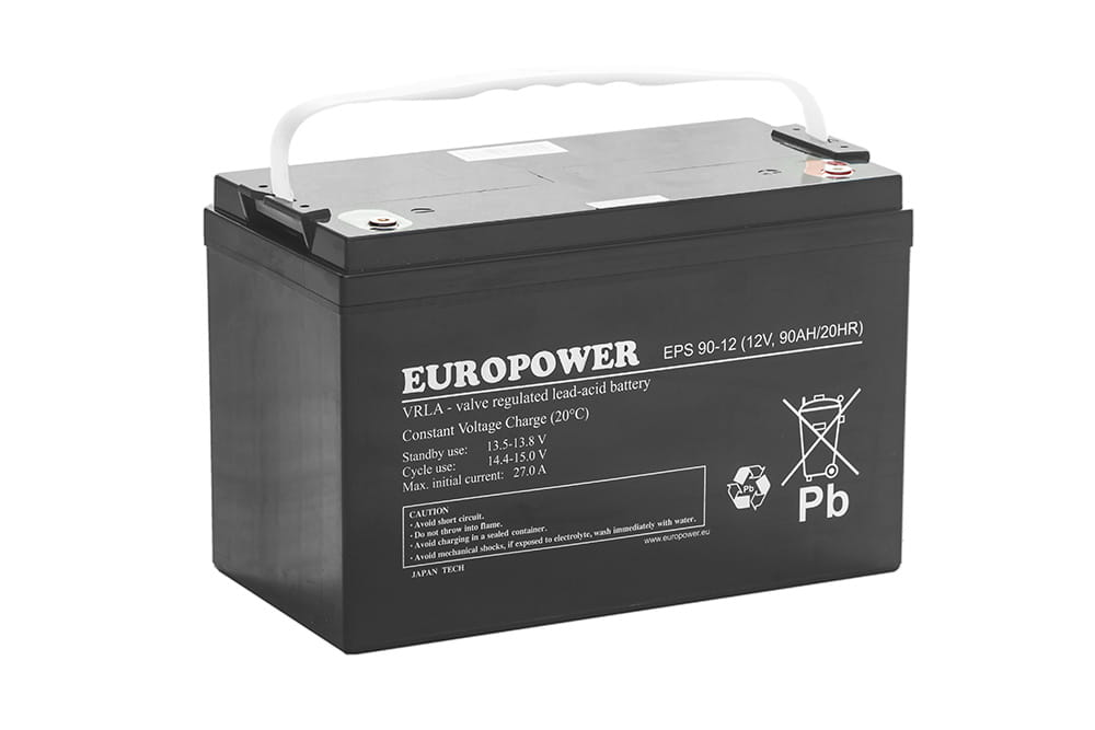 Akumulator AGM 12V 90Ah EPS Europower